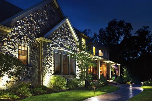 Dayton Ohio Landscape Lighting