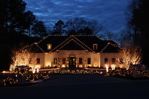 Dayton Christmas Lighting Service